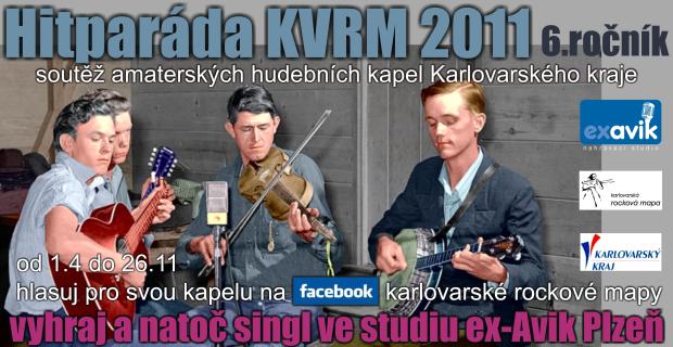 Hitparáda KVRM 2011 se přesouvá na FACEBOOK