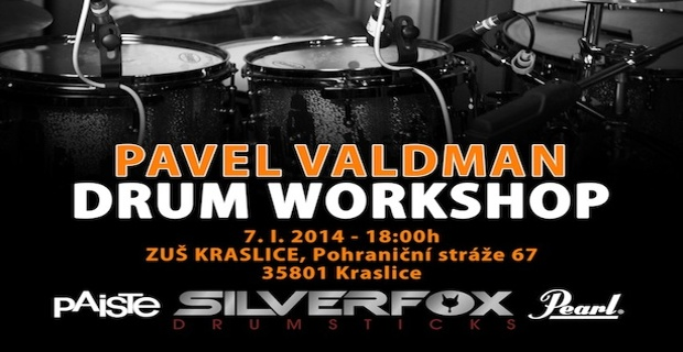 Pavel Valdman zve na Drum Workshop