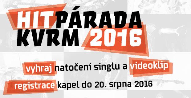 Startuje Hitparáda KVRM 2016 (CZ-DE)