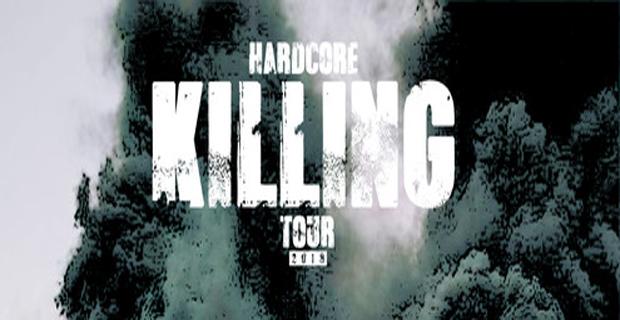 Hardcore Killing Tour 2018 tentokrát ve Slashi