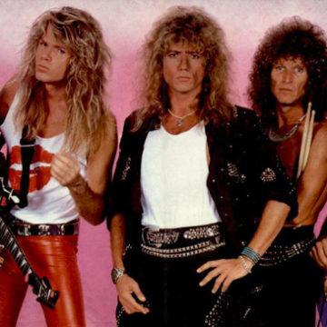 Whitesnake na hrázi