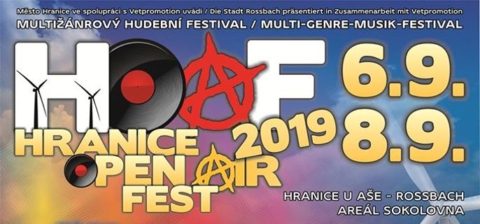 Hranice Open Air Fest 2019