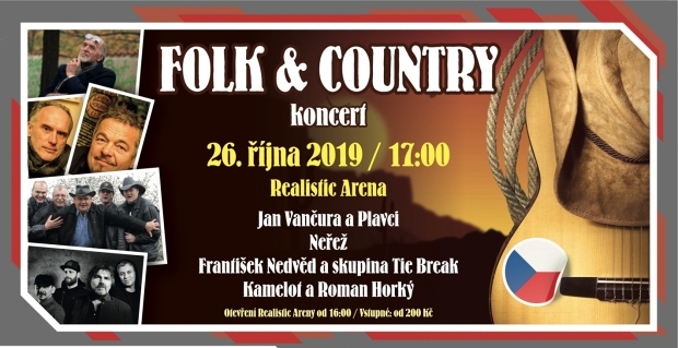 Folk & country večer v KV Aréně