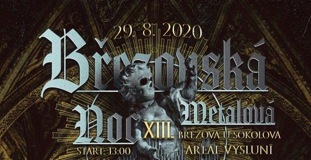 Březovská metalová noc 2020